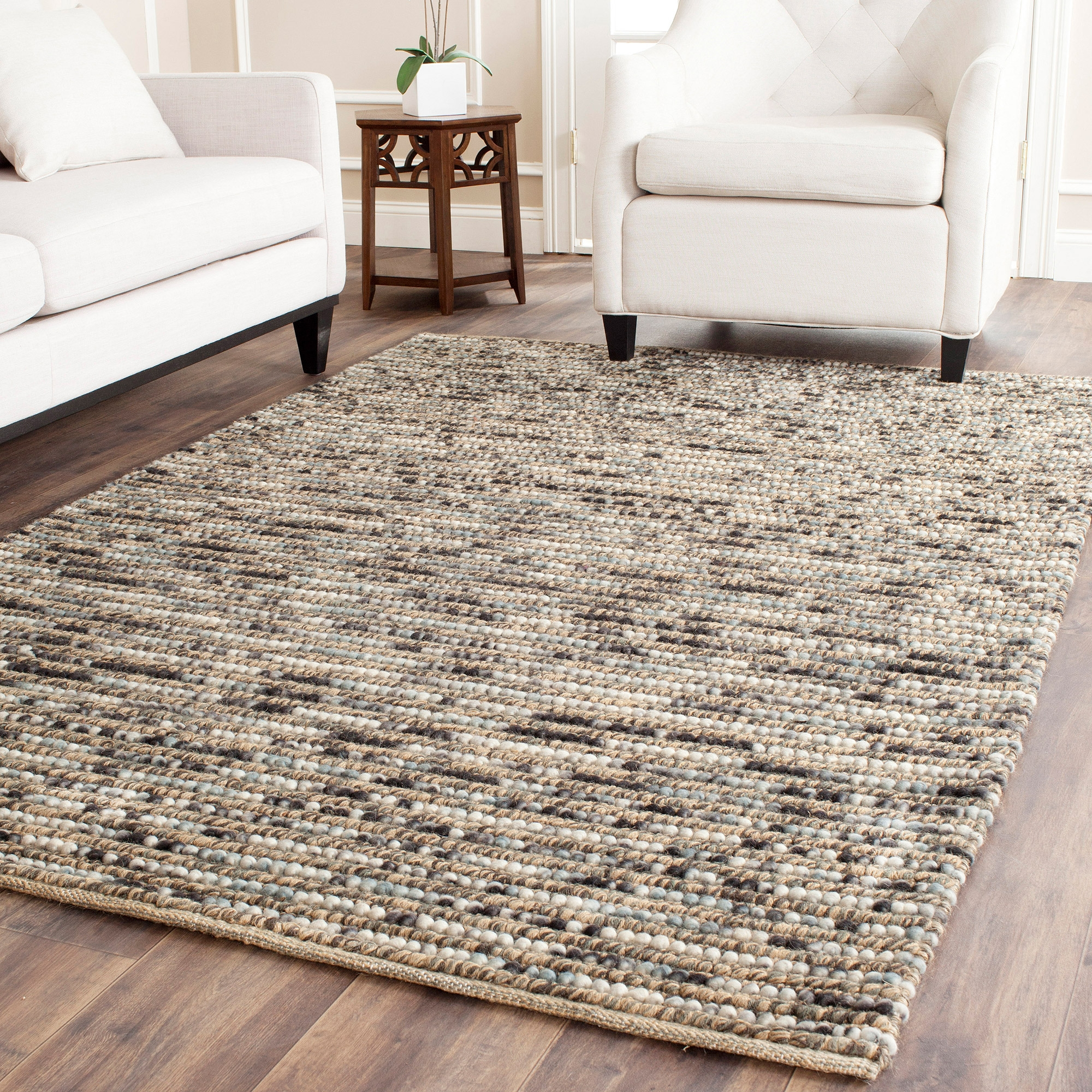 Popular Photo of Jute And Wool Area Rugs