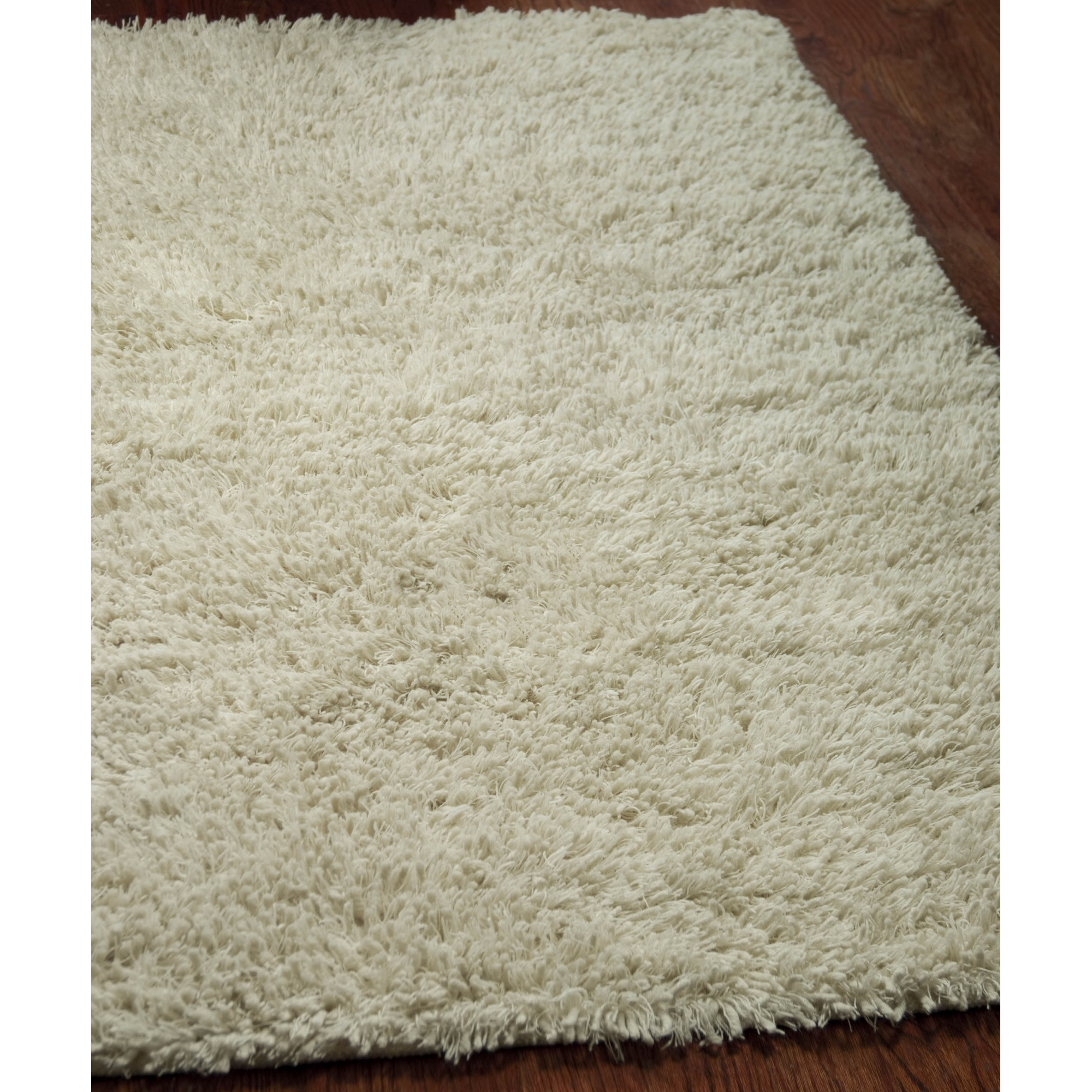 Safavieh Hand Tufted Ivory Plush Shag Wool Area Rugs Sg731a Ebay With Regard To Square Wool Area Rugs (#10 of 15)