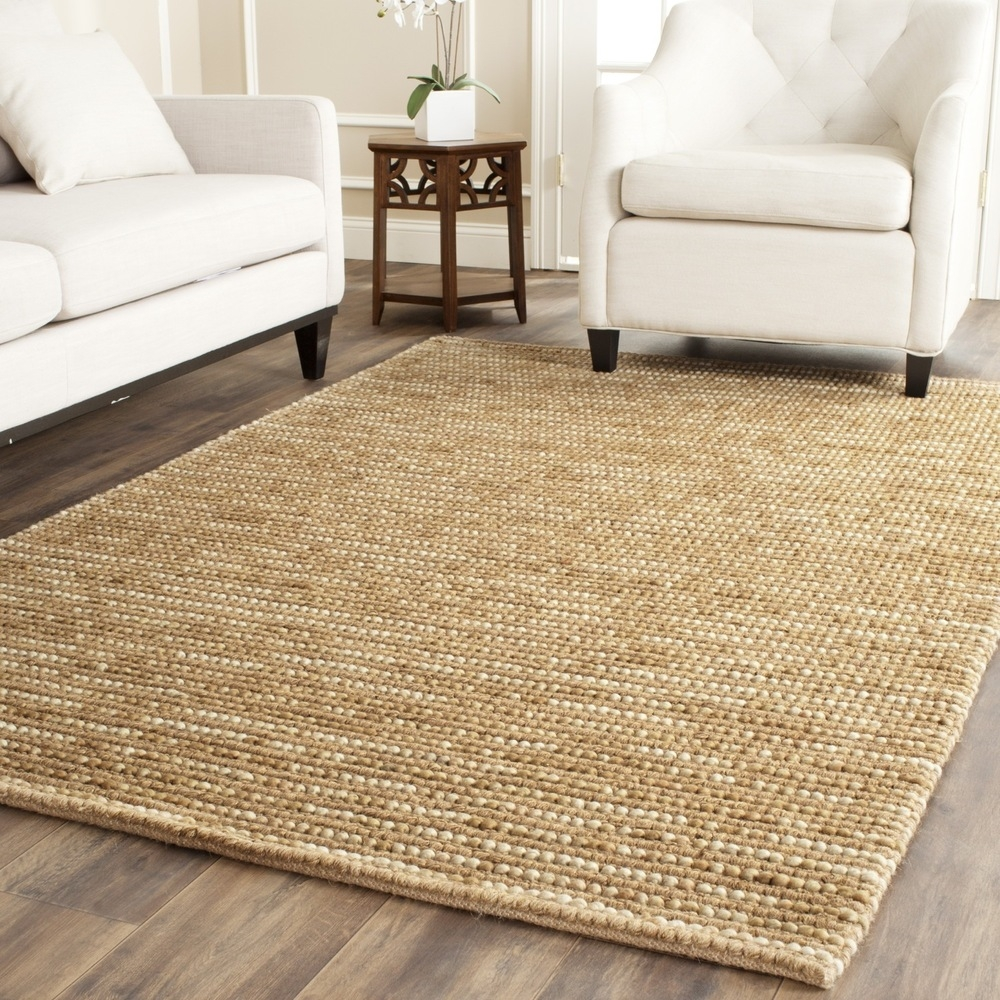Safavieh Hand Woven Bohemian Beige Multi Wool Jute Rug 10 X 14 For Wool Area Rugs 10× (#13 of 15)