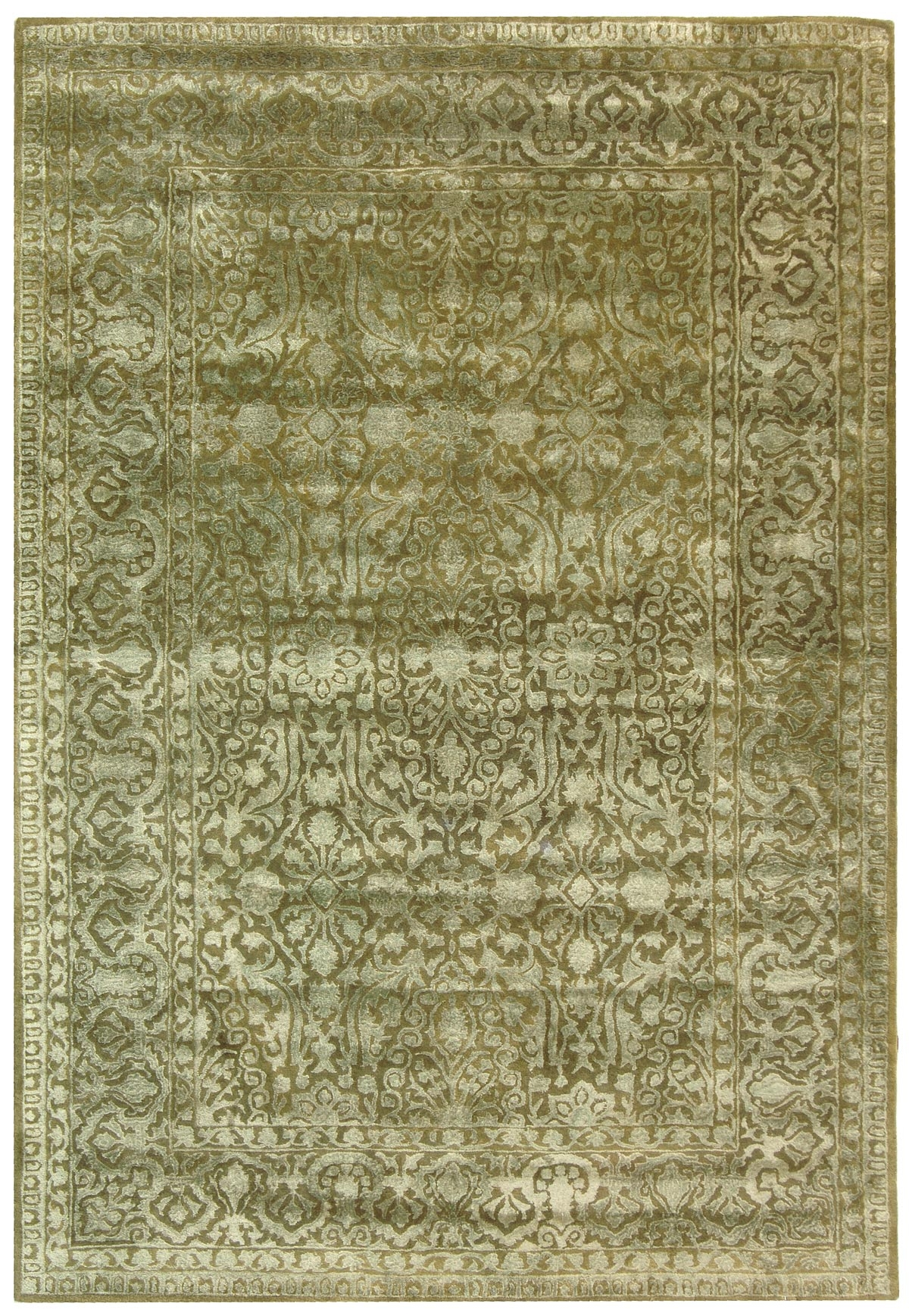Sage Green Rugs Roselawnlutheran Intended For Green Wool Area Rugs (#14 of 15)
