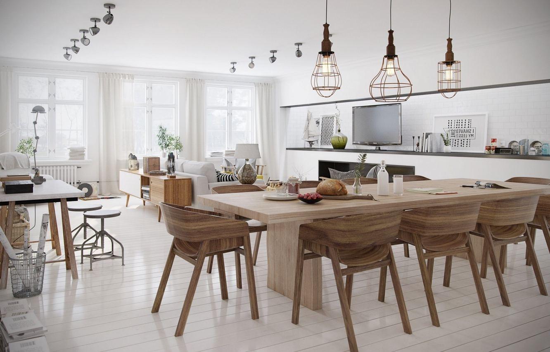 12 photo of scandinavian chandeliers for Wood dining room chandeliers