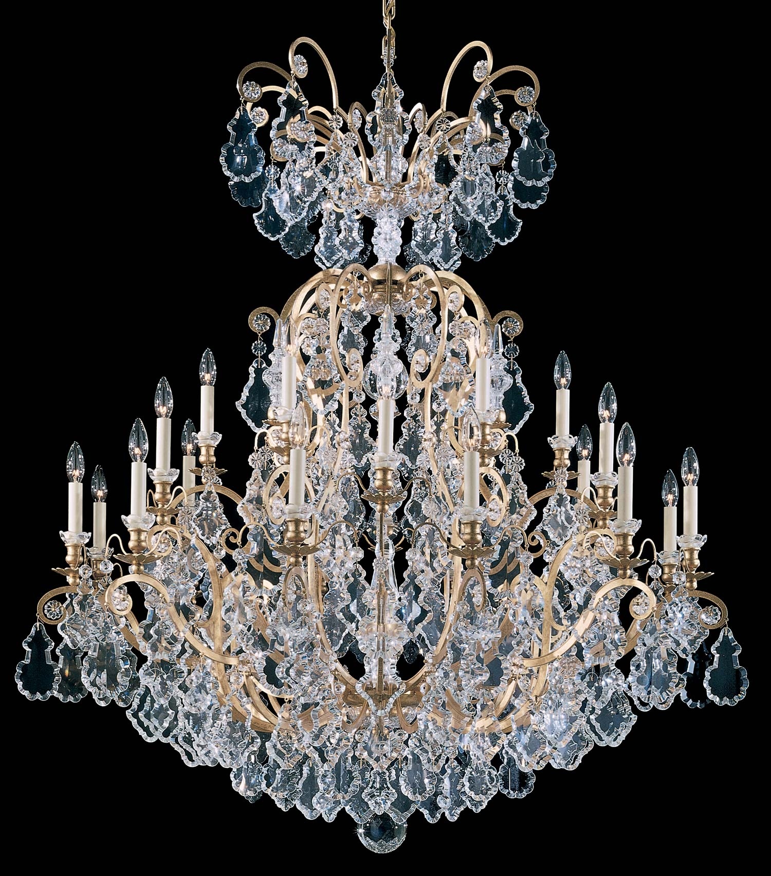 Schonbek 2774 Versailles Collection Chandelier Crystal Traditional For Baroque Chandelier (#11 of 12)