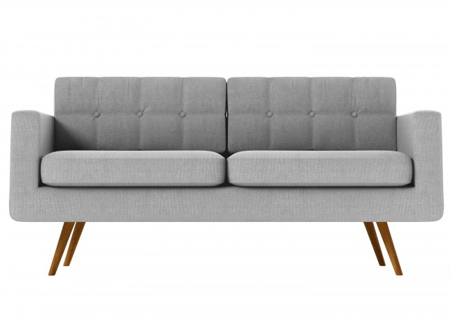 Seventy Modern 3 Seater Sofa In Grey Funiquecouk With Regard To Modern 3 Seater Sofas (#15 of 15)