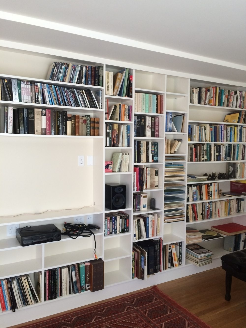 Shallow Bookshelves Idi Design For Full Wall Bookcase (View 13 of 15)