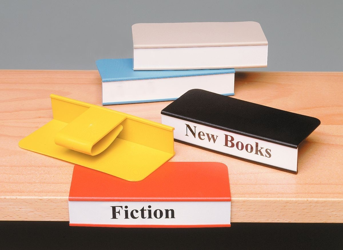 Shelf Label Holders And Accessories Intended For Library Shelf Dividers (View 11 of 15)
