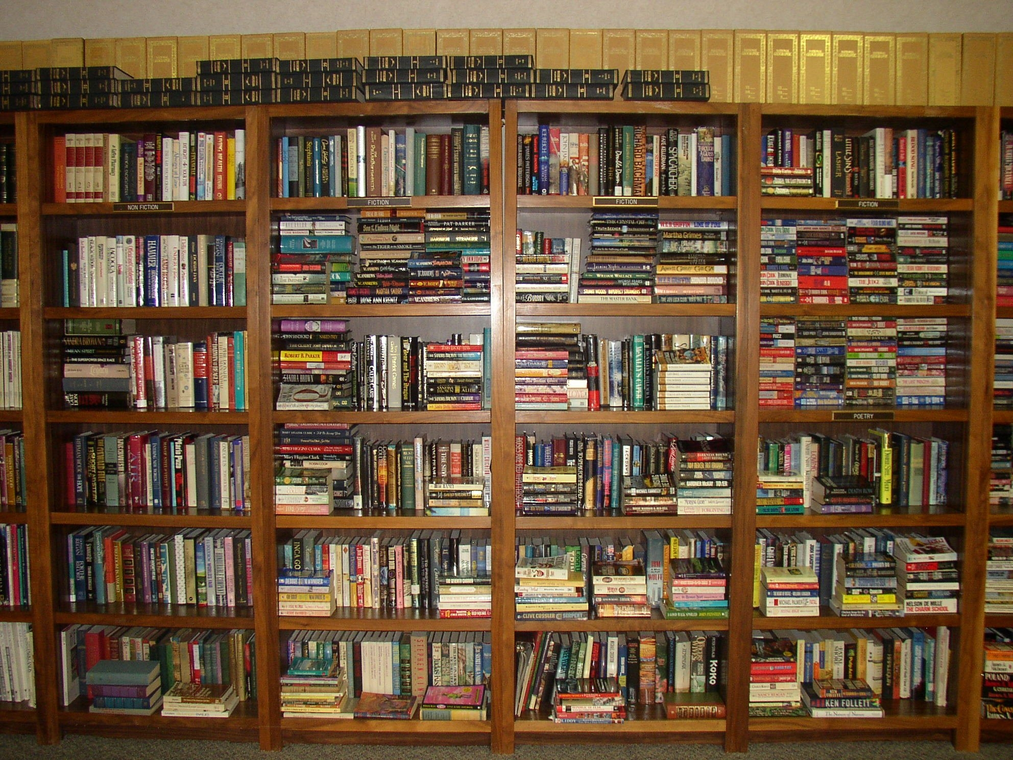 15 Ideas of Home Library Shelving Systems