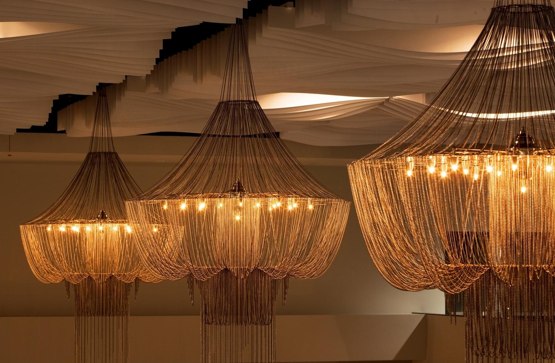 Sheraton Oklahoma City Downtown Hotel In Ballroom Chandeliers (#11 of 12)