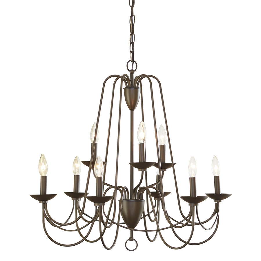 Shop Chandeliers At Lowes For Candle Chandelier (#11 of 12)