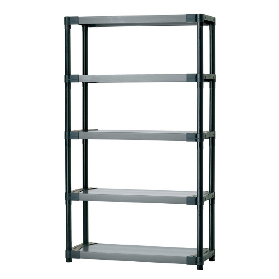 Shop Freestanding Shelving Units At Lowes For Cheap Shelving Units (View 8 of 15)