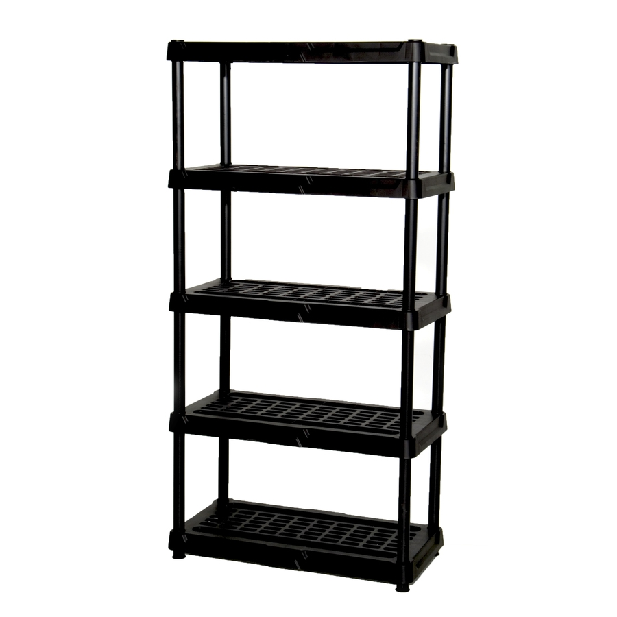 Shop Freestanding Shelving Units At Lowes Intended For Free Standing White Shelves (#11 of 15)