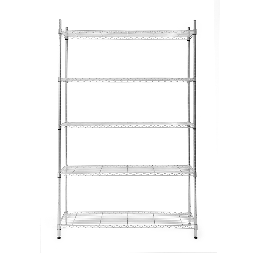 Shop Freestanding Shelving Units At Lowes Regarding Free Standing Shelving Units Wood (View 10 of 15)
