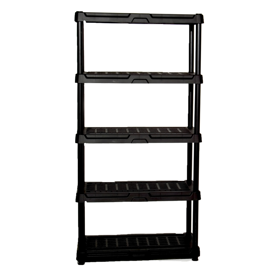 Shop Freestanding Shelving Units At Lowes Regarding Free Standing White Shelves (#12 of 15)