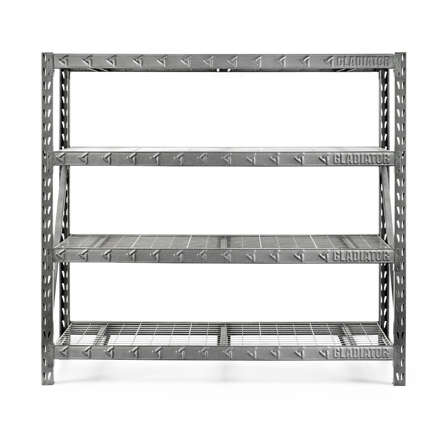 Shop Freestanding Shelving Units At Lowes Throughout Free Standing Shelving Units Wood (View 9 of 15)