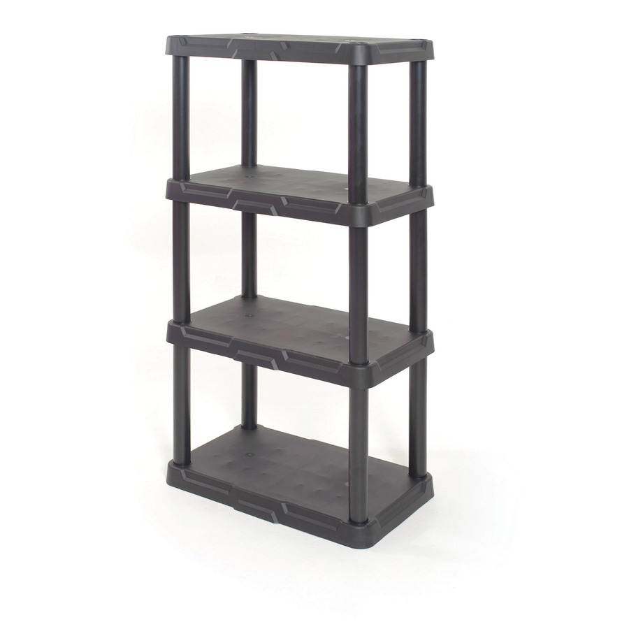 Shop Freestanding Shelving Units At Lowes With Regard To Cheap Shelving Units (#10 of 15)