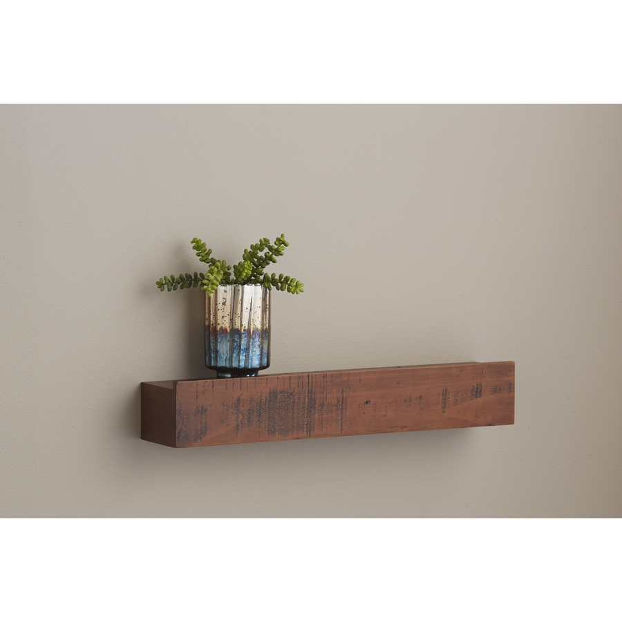 Shop Wall Mounted Shelving At Lowes Pertaining To Wall Shelf (#6 of 12)