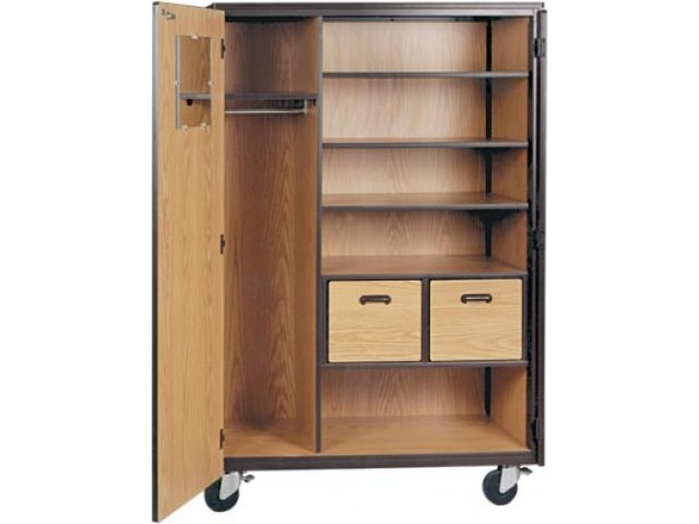 Shop Wardrobe Storage Cabinets Buy Now Hertz Furniture With Regard To Mobile Wardrobe Cabinets (#10 of 15)
