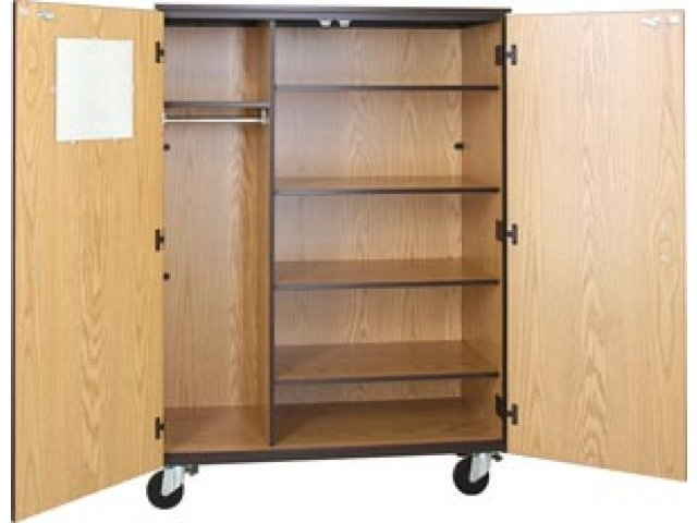 Popular Photo of Mobile Wardrobe Cabinets