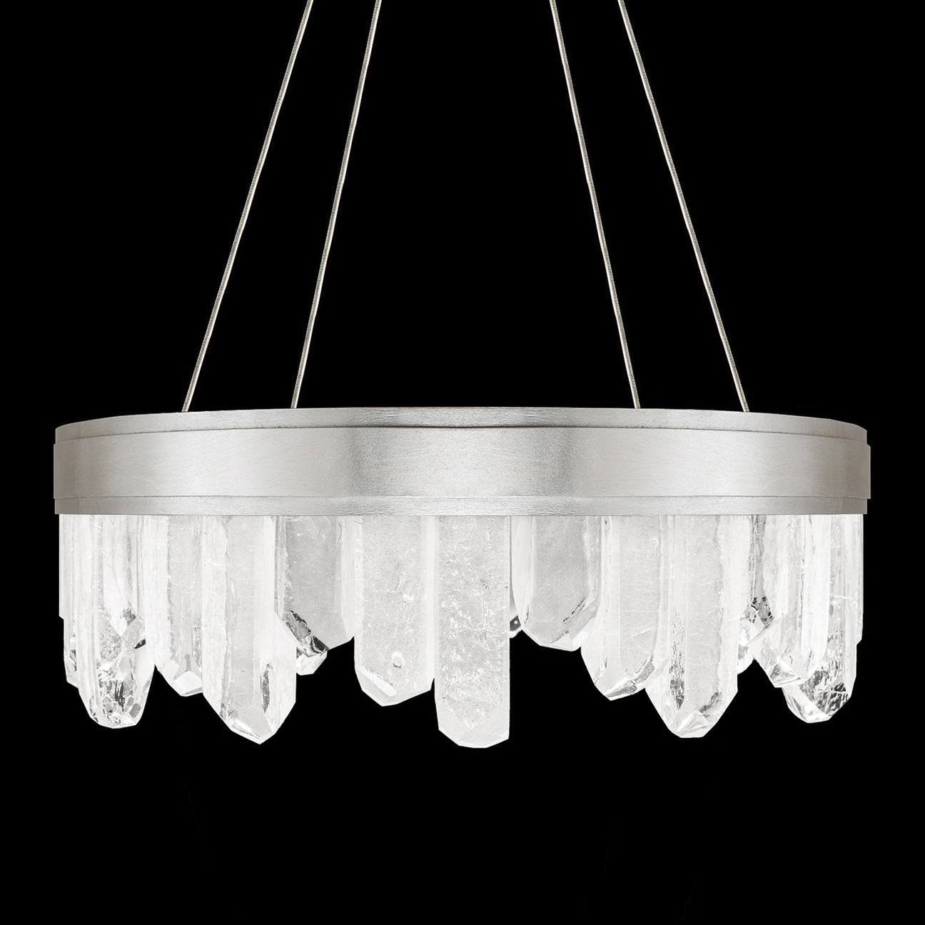 Short Crystals Chandelier Fine Art Lamps 888040 1 With Short Chandelier (#9 of 12)