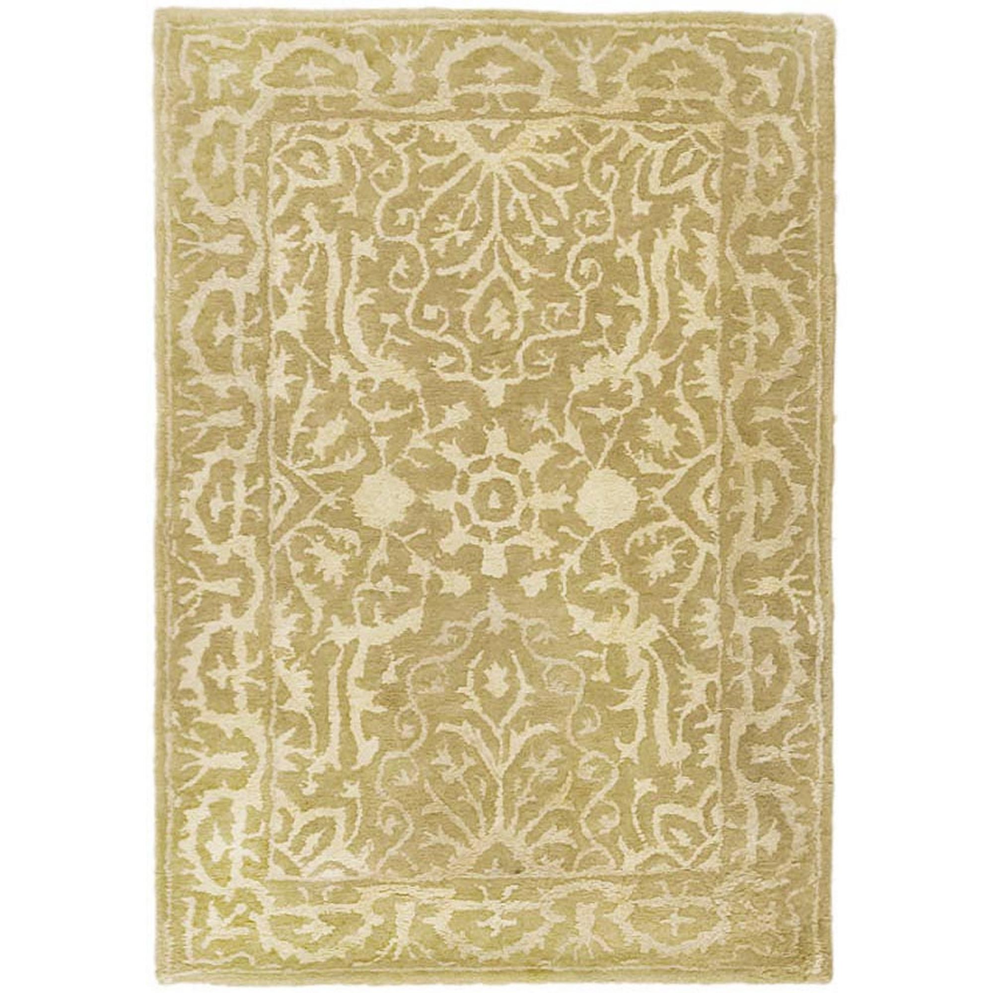 Silk Area Rug In Wool And Silk Area Rugs (#13 of 14)