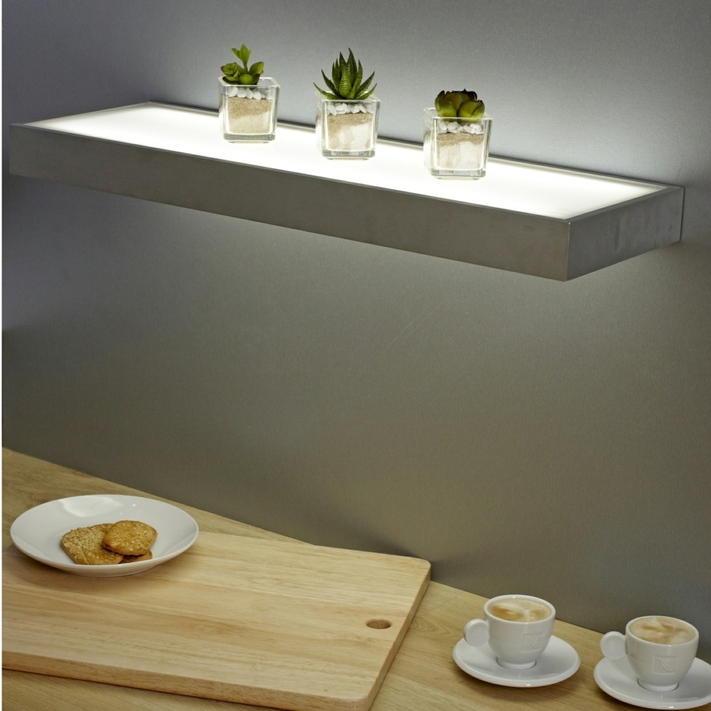 Sirius Led Glass Corner Shelf Light Great Ideas Pinterest Throughout Glass Shelves With Lights (#12 of 12)