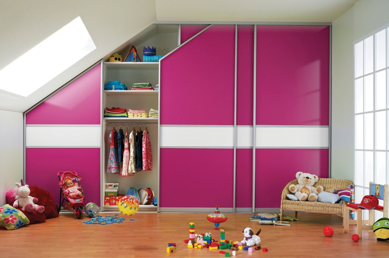 Sliderobes Fitted Sliding Wardrobe Pink White Glass Childr Flickr In Childrens Pink Wardrobes (View 9 of 15)