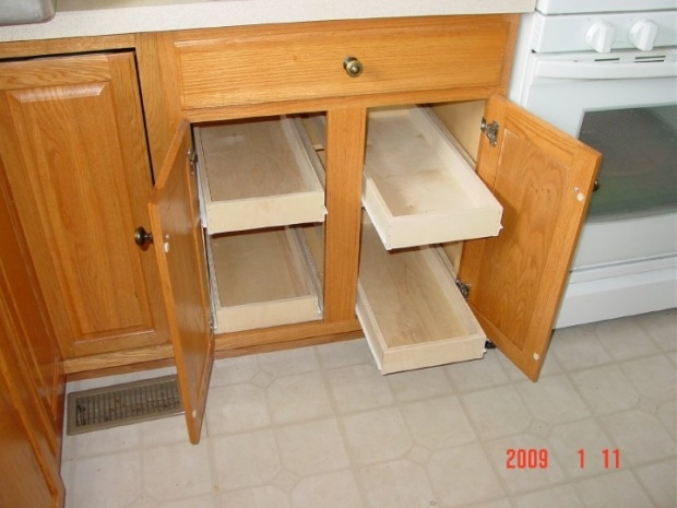 Sliding Cabinet Draws Woodworking Talk Woodworkers Forum Pertaining To Cupboard Drawers (#15 of 15)
