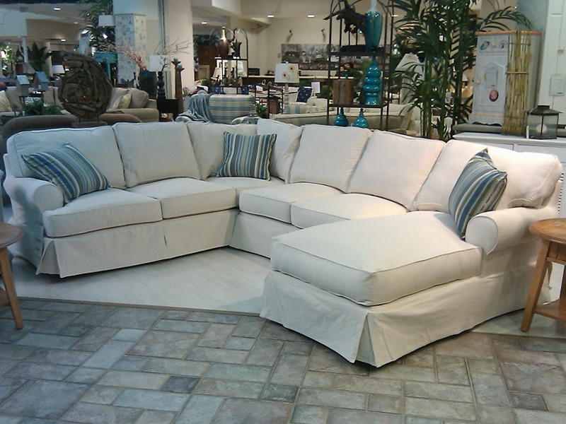 Slipcovers For Sectional Couches Sectional Slipcovers For Slipcovers Sofas (#7 of 15)