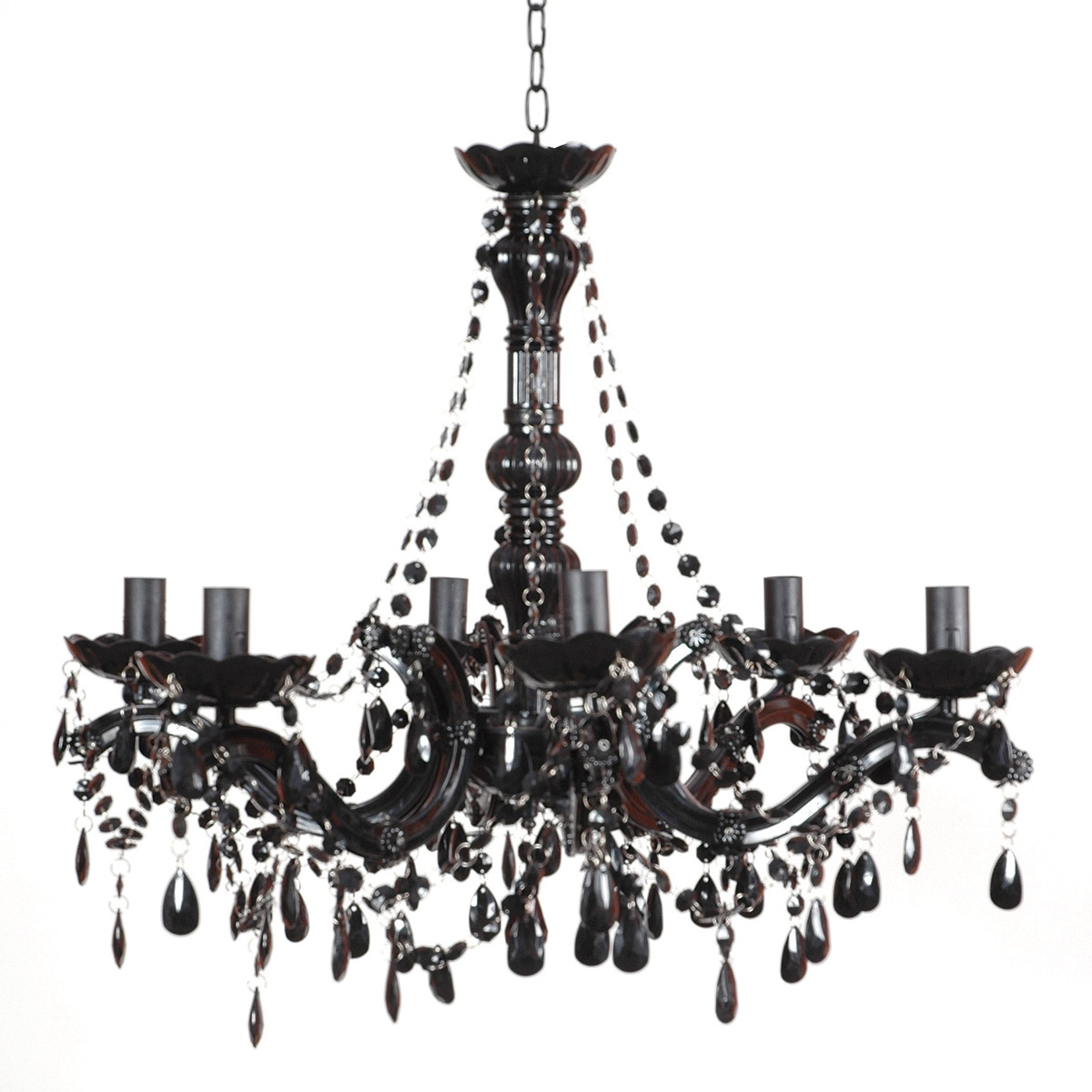 Small Chandeliers For Large Size Of Crystal And Black Chandelier In Large Black Chandelier (#12 of 12)