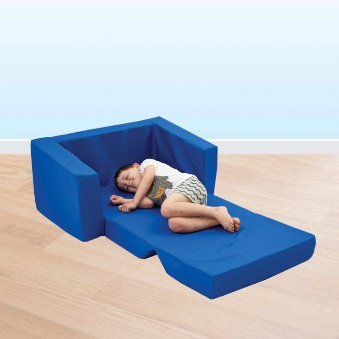 Small Kids Flip Out Sofa Clark Rubber With Regard To Flip Out Sofa For Kids (View 13 of 15)