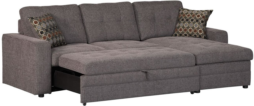 Small Sectional Sofa Bed Interior Exterior Doors Island In Sectional Sofas With Sleeper And Chaise (#15 of 15)