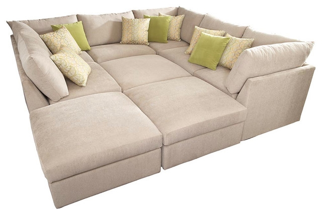Sofa Beds Design Fascinating Traditional Pit Sectional Sofas Throughout Pit Sofas (#10 of 15)