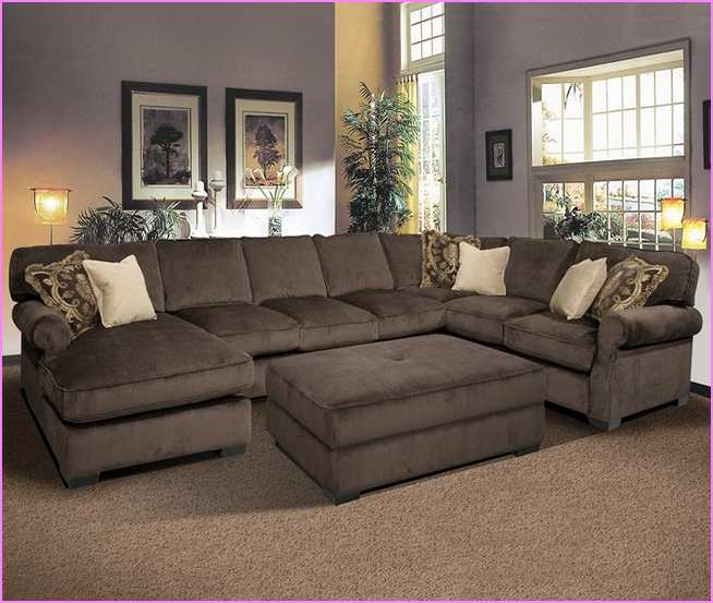 Sofa Design Ideas Deep Sectional Sofa With Chaise Nursery Within Deep Cushioned Sofas (View 10 of 15)
