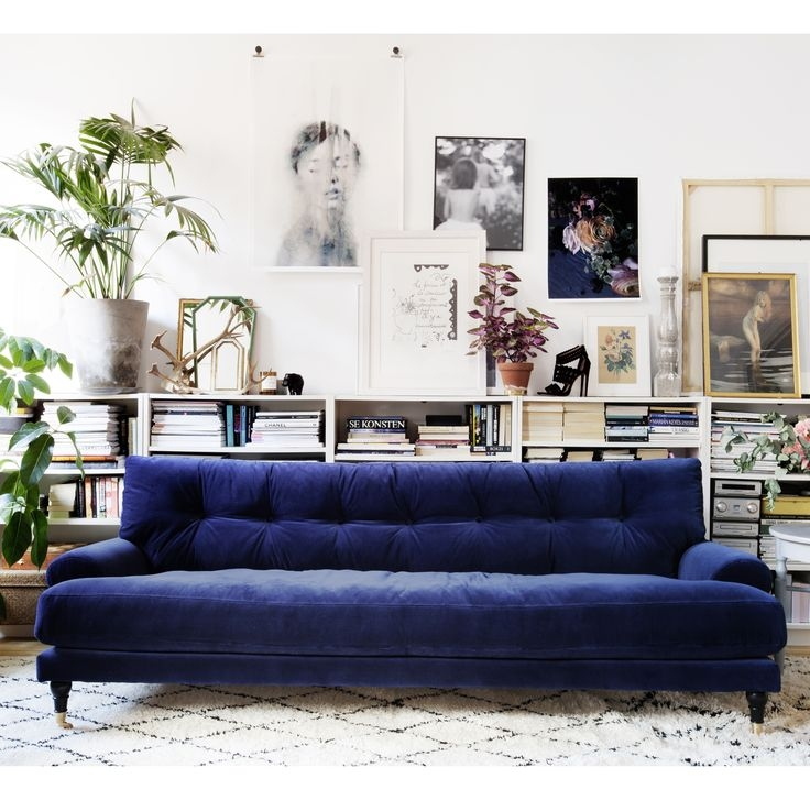 Sofa Glamorous Dark Blue Sofa Dark Blue Sofa Navy Blue Couches With Regard To Dark Blue Sofas (#15 of 15)