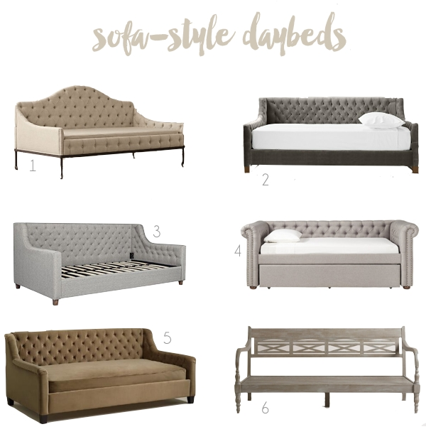 Sofa Style Daybeds With Regard To Sofa Day Beds (#12 of 15)