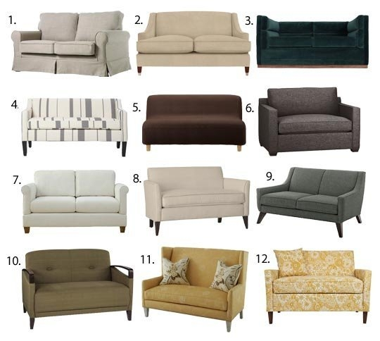 Sofas Loveseats A Guide To The Most Popular Styles Available Pertaining To 6 Foot Sofas (View 6 of 15)