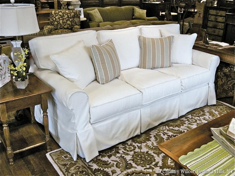 Sofas Sectionals Slipcovered Sofas Sleeper Sofas Loveseats With Regard To Slipcovers Sofas (#8 of 15)