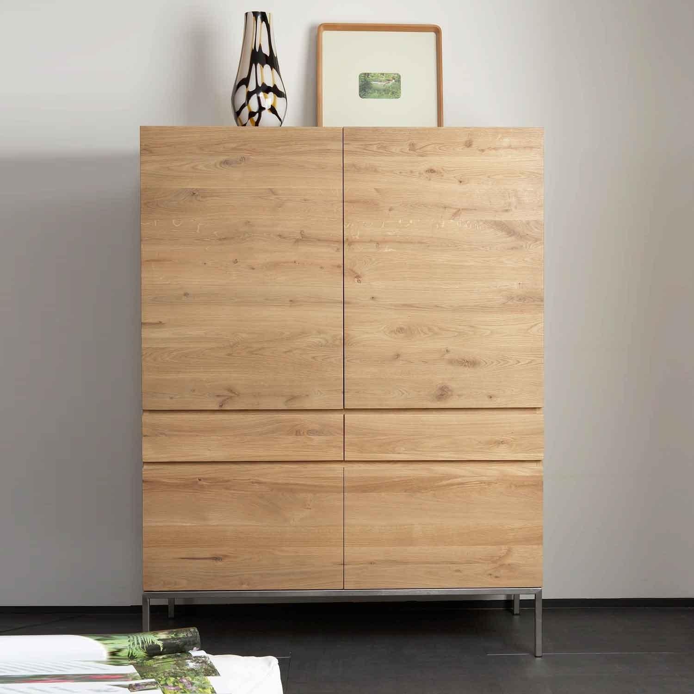 Solid Oak Storage Cupboards Built To Last Oak Furniture With Oak Cupboards (#11 of 12)