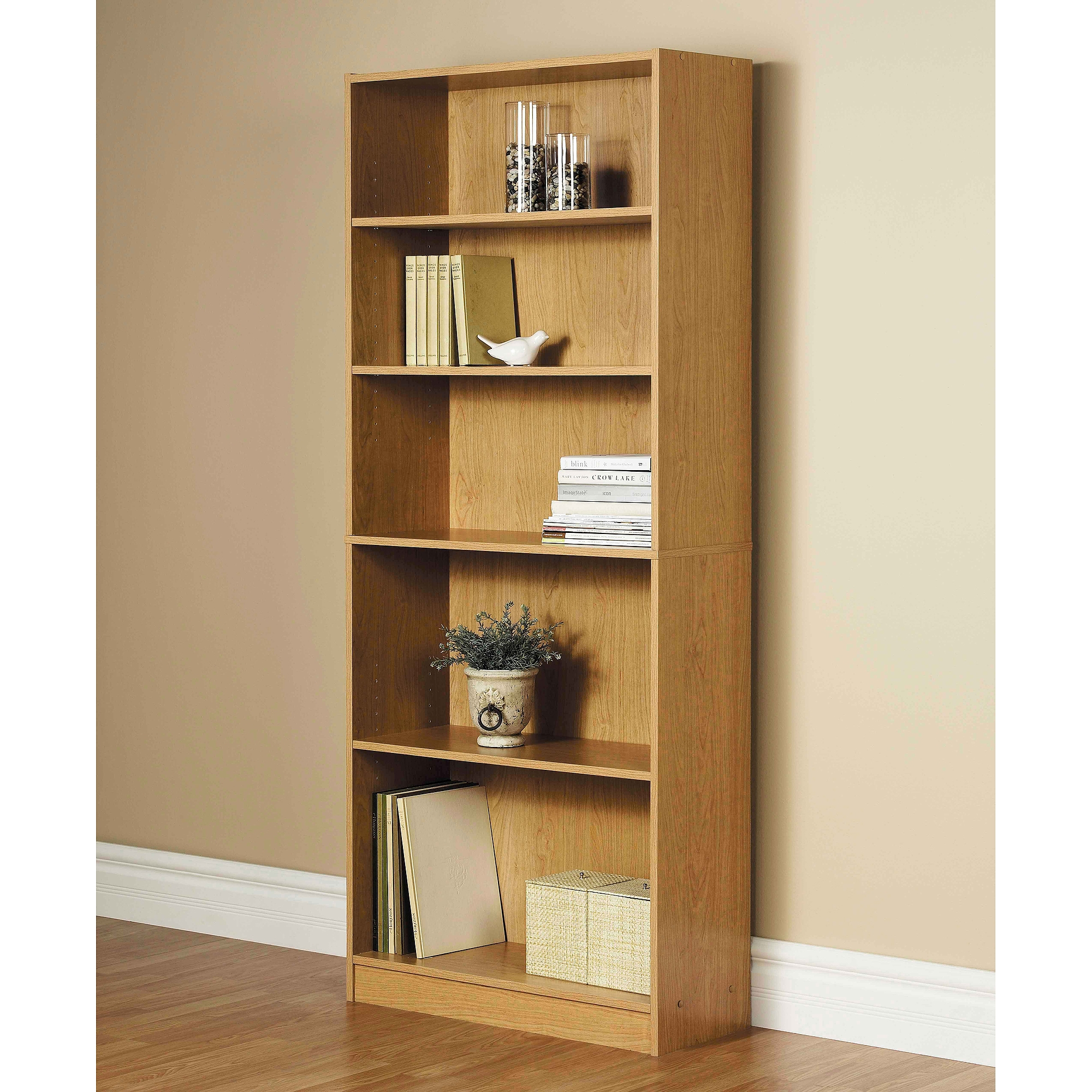 Solid Wood Bookcases Throughout Wooden Bookcases (View 5 of 15)