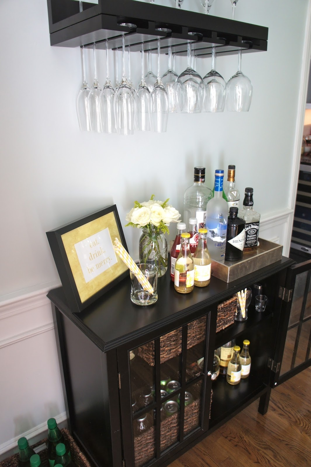Sophisticated Home Bar Ideas Reliable Remodeler With Regard To Glass Shelves For Bar Area (#11 of 12)