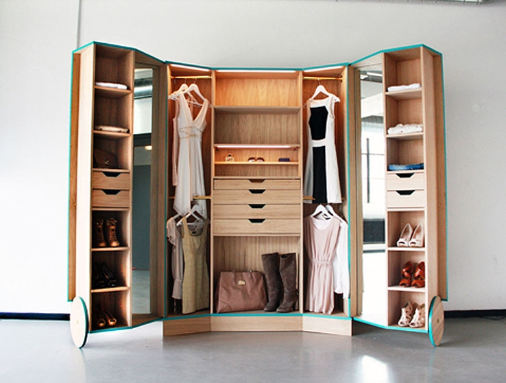 Space Saving Wardrobes Dnb Regarding Space Saving Wardrobes (View 3 of 15)