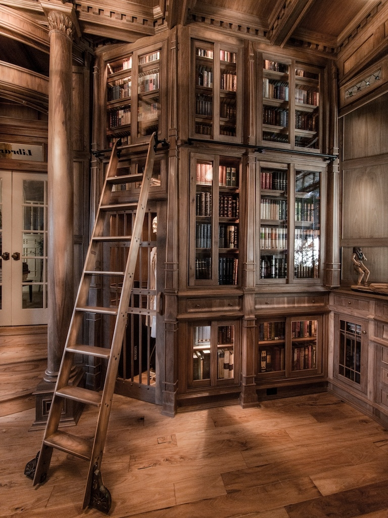 Stop Everything And Check Out This Homemade Bespoke Library With Regard To Bespoke Library (#12 of 15)