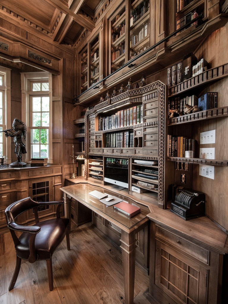 Stop Everything And Check Out This Homemade Bespoke Library Within Bespoke Library (#13 of 15)