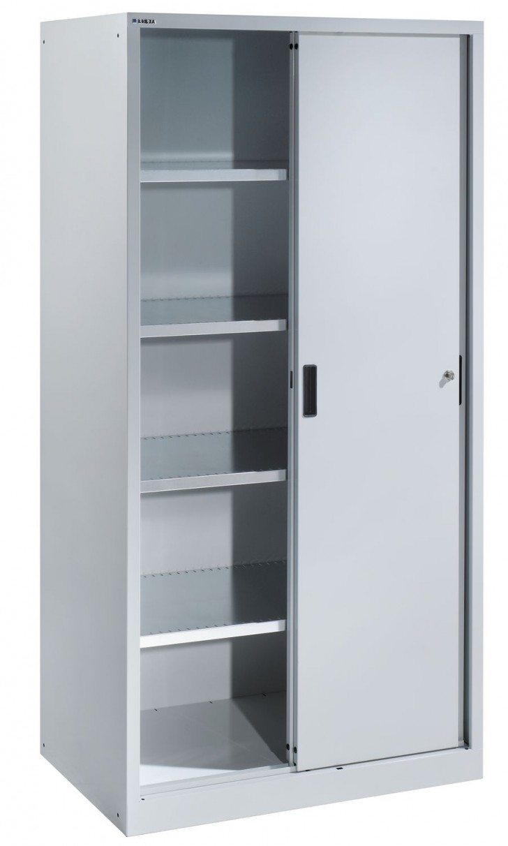 Storage Cabinets With Doors And Shelves Plastic Creative In Large Storage Cupboards (#10 of 12)