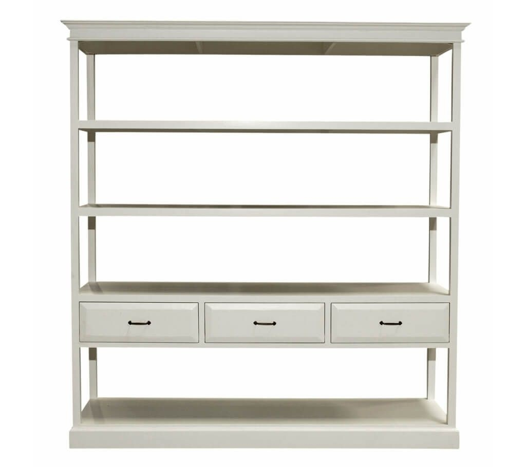 Storage Organization Cool White Shelving Unit With Drawers Within White Shelving Units (#13 of 15)