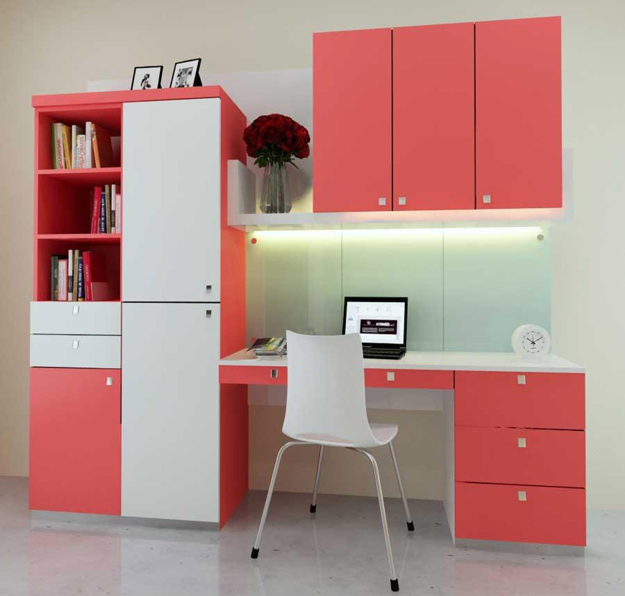 Study Room With Bed Designs On Office Workspace Design Ideas Inside Study Cupboard Designs (View 14 of 15)