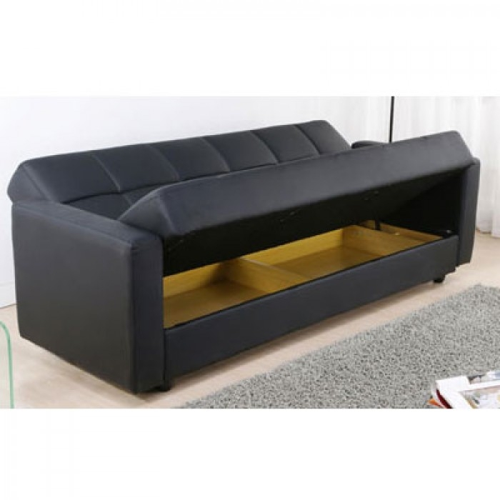 Stunning Leather Sofa Bed With Storage Sofa Sofa Bed Storage Sofas Inside Leather Sofa Beds With Storage (#14 of 15)