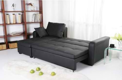 Stunning Microfiber Sectional Sleeper Sofa Sofa Beds Design Inside Black Leather Sectional Sleeper Sofas (#14 of 15)