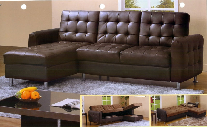 Stunning Microfiber Sectional Sleeper Sofa Sofa Beds Design With Regard To Black Leather Sectional Sleeper Sofas (#15 of 15)