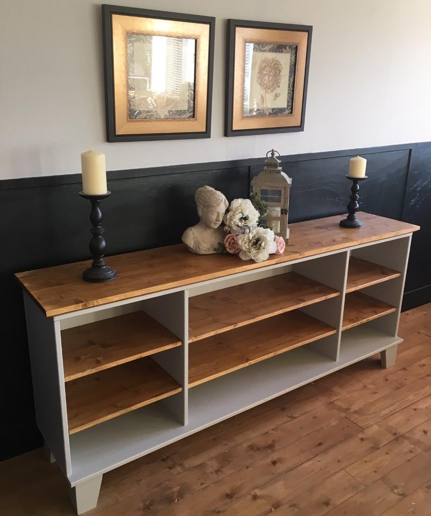 Stunning New Handmade 6ft Pine Sideboard Dresser Tv Unit In With Regard To Handmade Tv Unit (View 8 of 15)