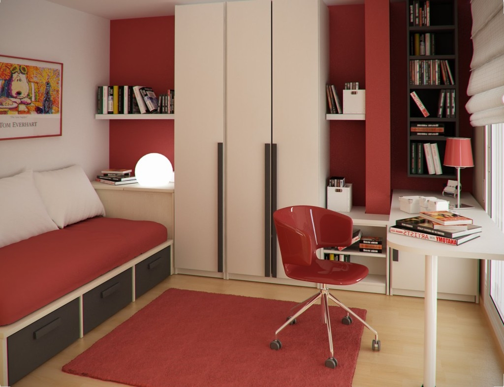 Stylish Study Table Designs Pertaining To Study Cupboard Designs (View 8 of 15)